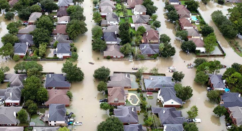 Huracán Harvey Inundación en Houston